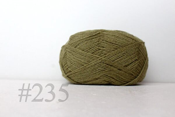 Teksrena Lithuanian Wool - Khaki Green 1