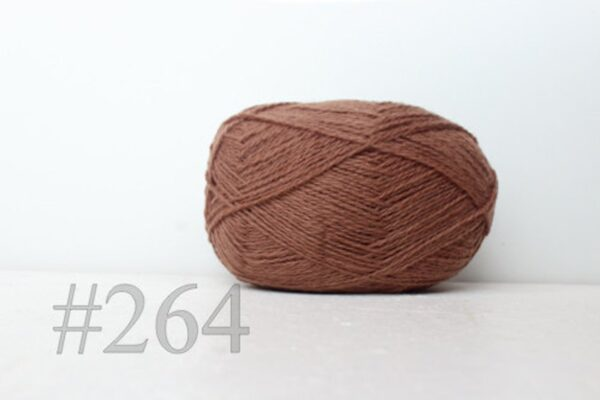 Teksrena Lithuanian Wool - Soft Brown 1