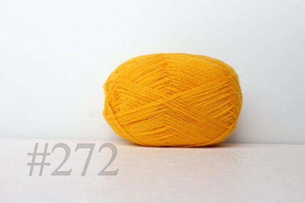 Teksrena Lithuanian Wool - Bright Yellow 1