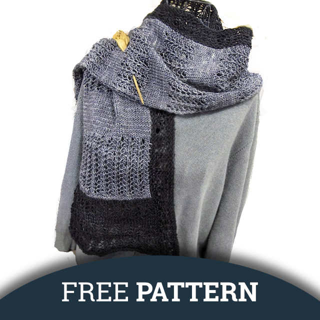 Free Pattern: Aunt Phebe's Comfort Shawl 4