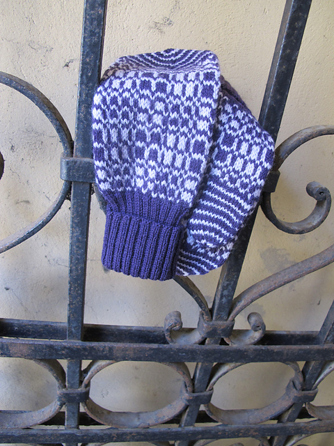Warp and Weft to Knit Pattern 4