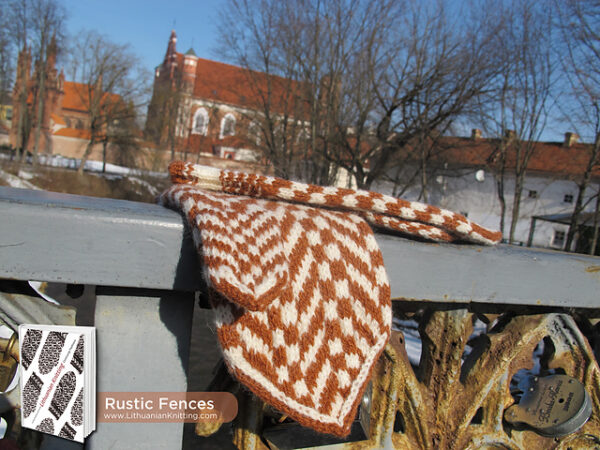Rustic Fences Mitten Pattern 2