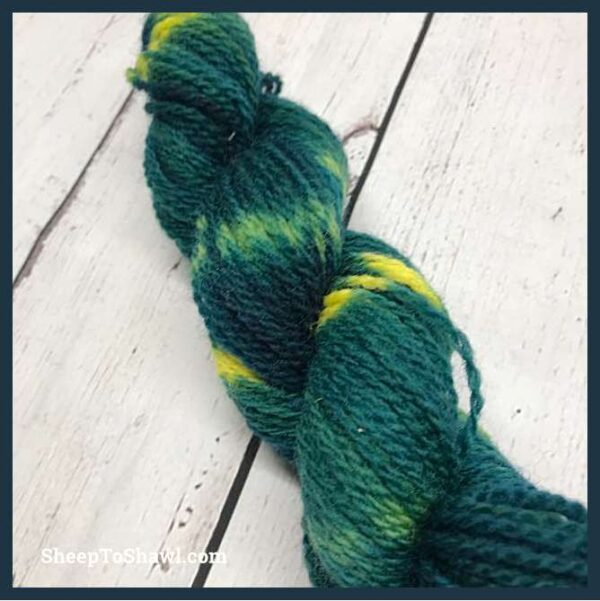 Sheep to Shawl Yarns - 1012 - Green Envy 4