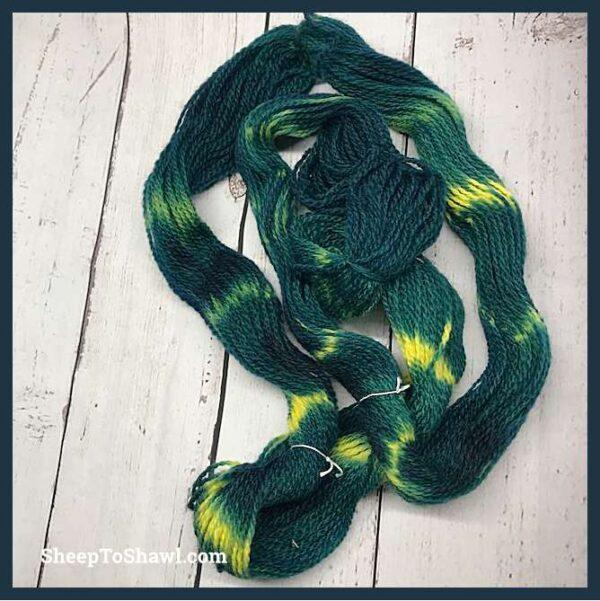 Sheep to Shawl Yarns - 1012 - Green Envy 2