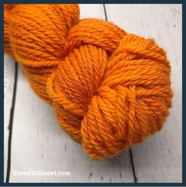 Sheep to Shawl Yarns - 1005 - Dark Orange 2