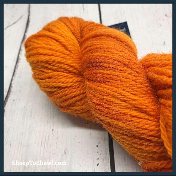 Sheep to Shawl Yarns - 1005 - Dark Orange 3