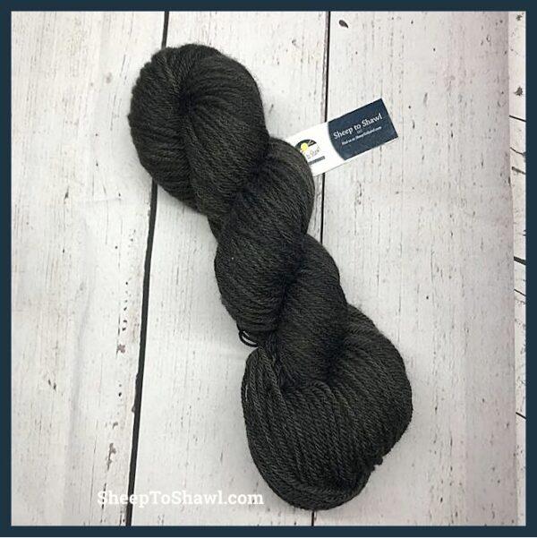 Sheep to Shawl Yarns – 1035 - Black Smoke 1