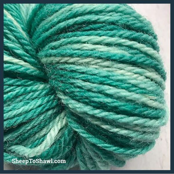 Sheep to Shawl Yarns - 1009 - Forest Green 4