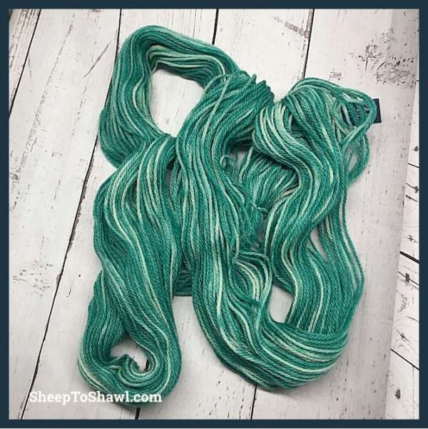 Sheep to Shawl Yarns - 1009 - Forest Green 5