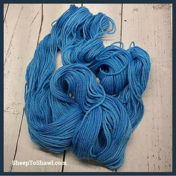 Sheep to Shawl Yarns - 1006 - Sky Blue 5