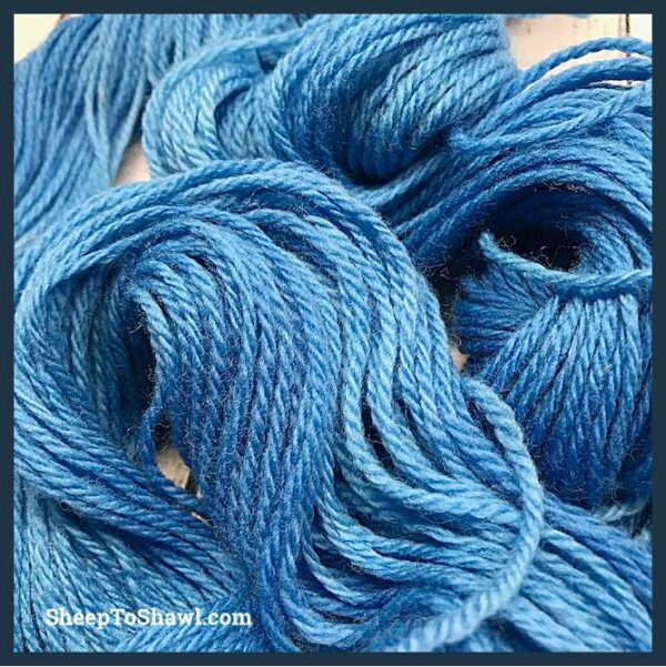 Sheep to Shawl Yarns - 1006 - Sky Blue 2