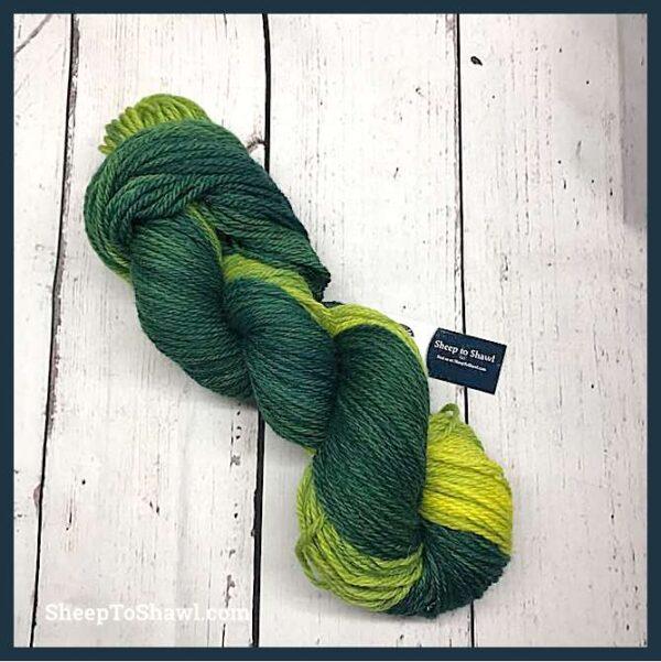 Sheep to Shawl Yarns - 1004 - Green 1