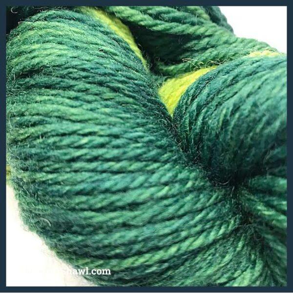 Sheep to Shawl Yarns - 1004 - Green 2