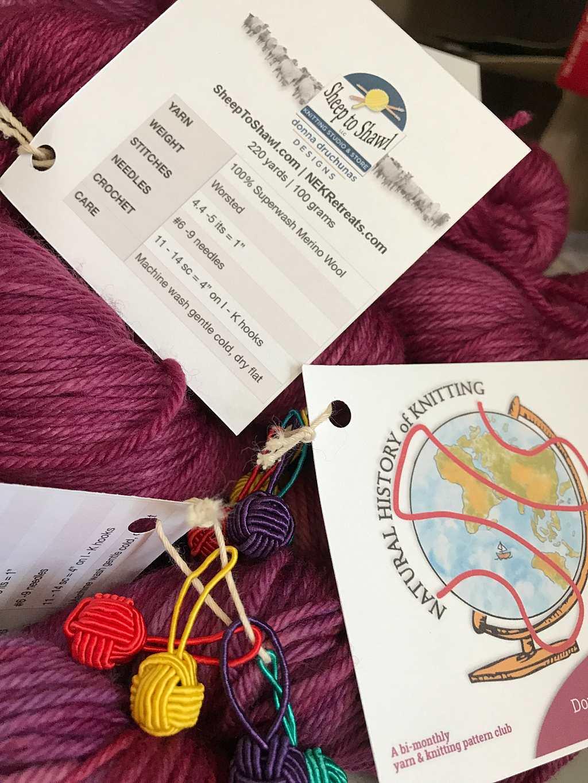 The Knitting Inspiration Yarn Club 27