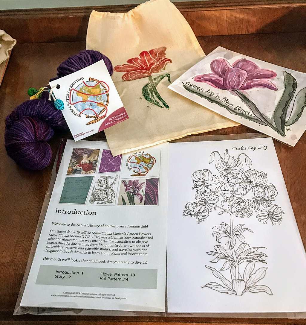The Knitting Inspiration Yarn Club 23