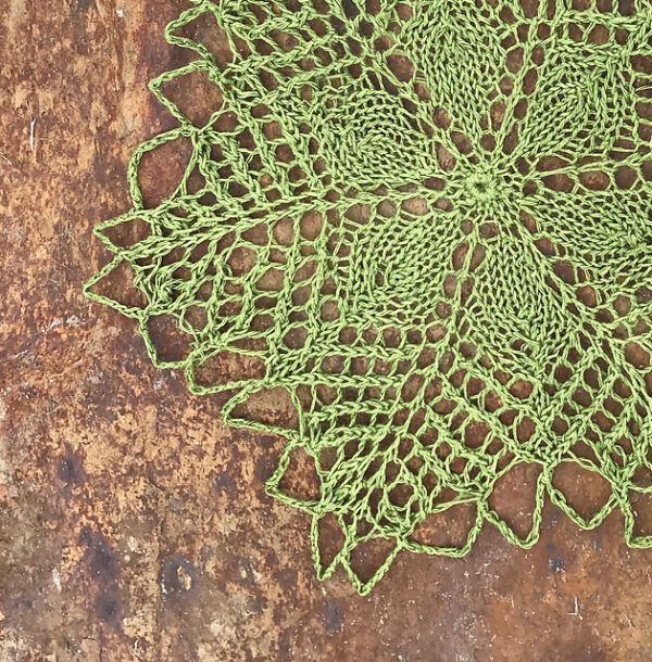 Linen & Lace Knitted Doilies 9