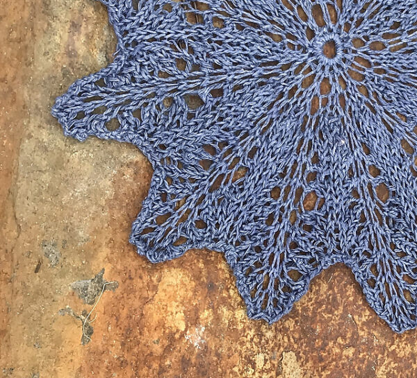 Linen & Lace Knitted Doilies 6
