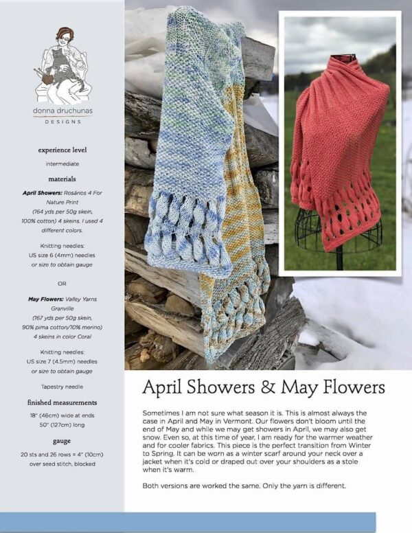 April Showers & May Flowers Pattern 1