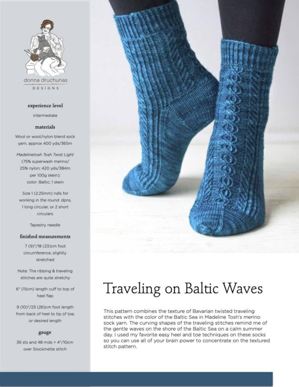 Traveling on Baltic Waves Pattern 1
