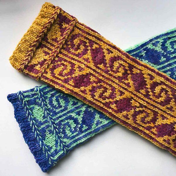 Turkish Delight Socks Pattern 5