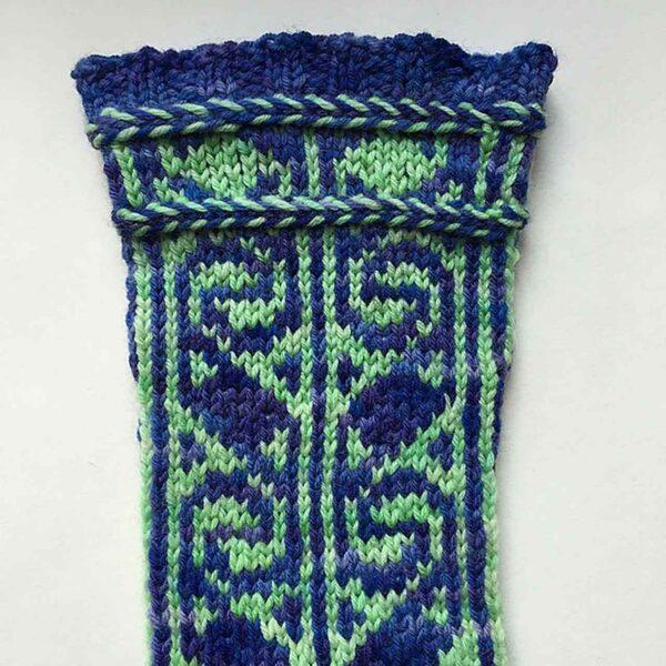 Turkish Delight Socks Pattern 4