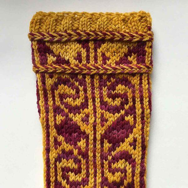 Turkish Delight Socks Pattern 3