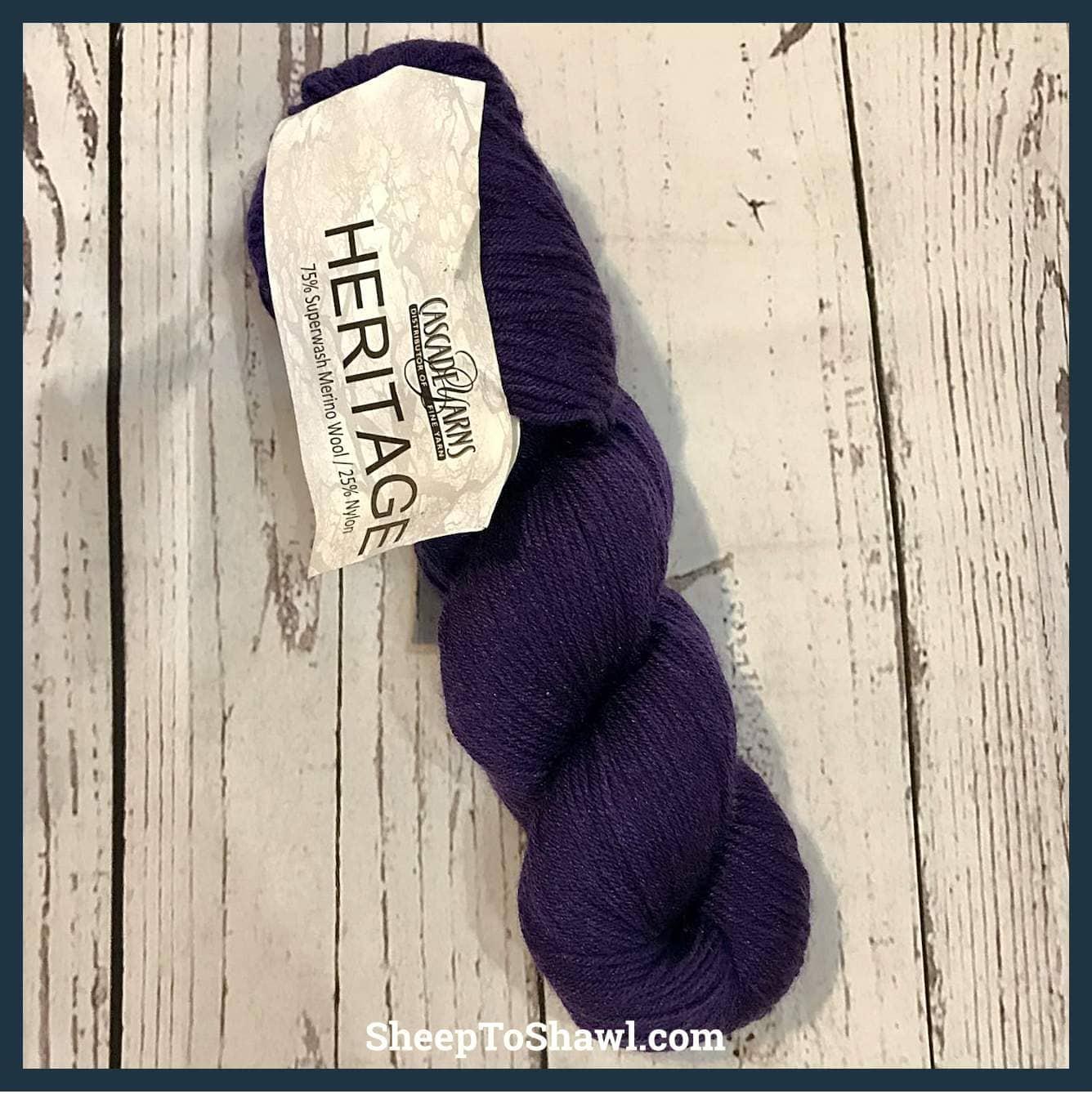 Cascade Yarns - Heritage -Violet Indigo 1