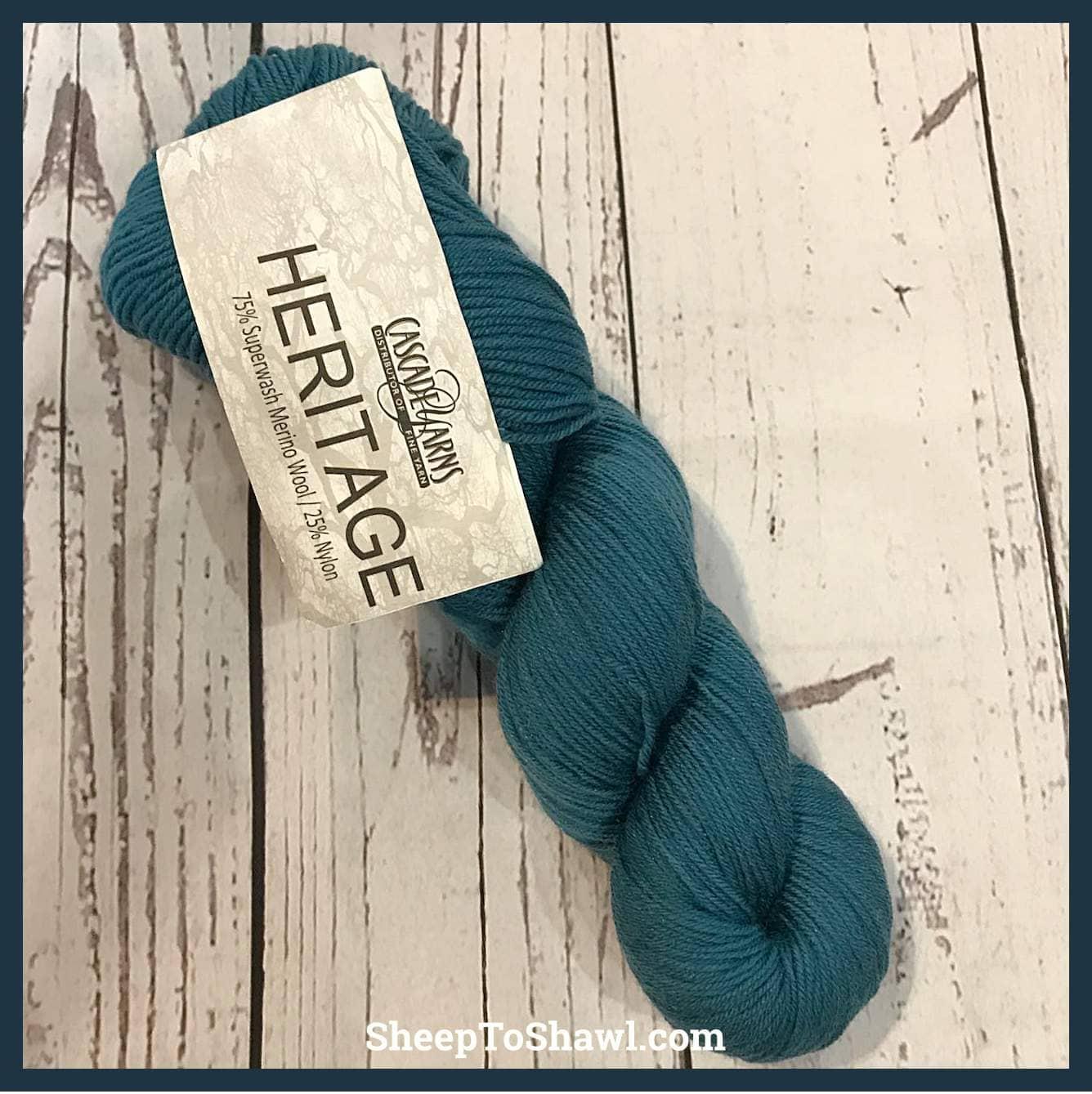 Cascade Yarns - Heritage - Jade 1