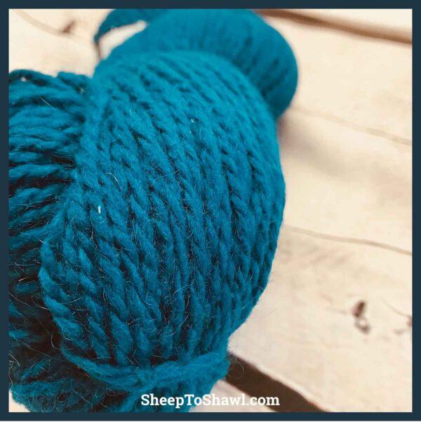 Peace Fleece - Blue Jay 2