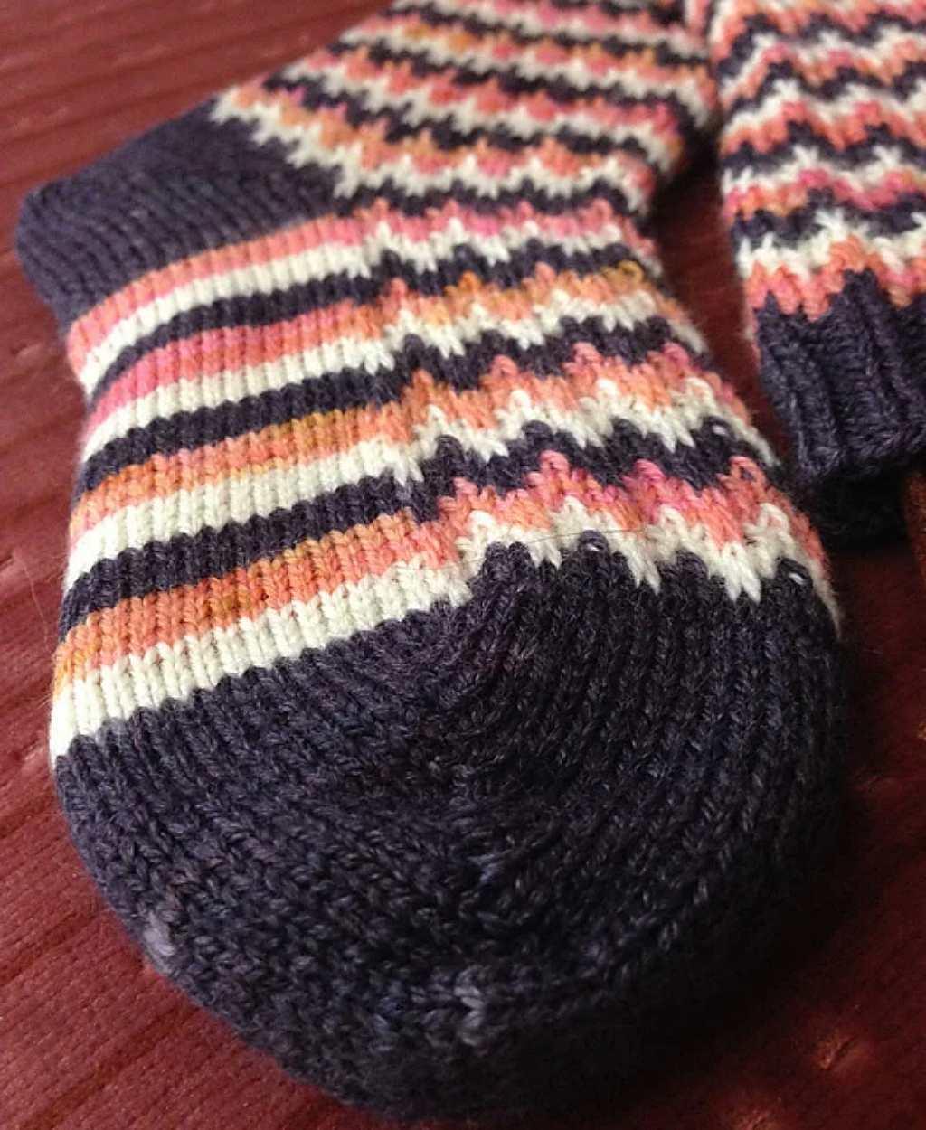 String to Sock Knitting Retreat 7