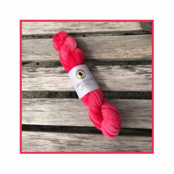 Greensboro Bend – Bluefaced Leicseter Yarn – Strawberry Blend 1