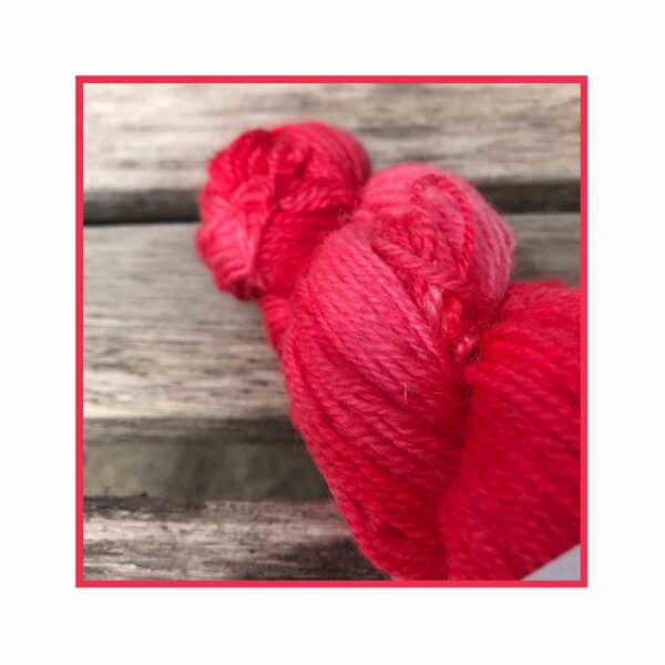 Greensboro Bend – Bluefaced Leicseter Yarn – Strawberry Blend 3