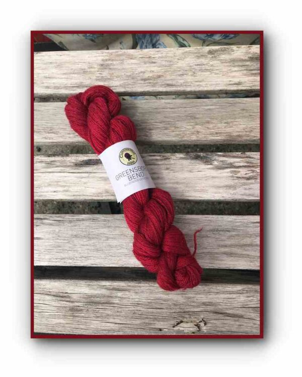 Greensboro Bend – Bluefaced Leicseter Yarn – Red Barn 1