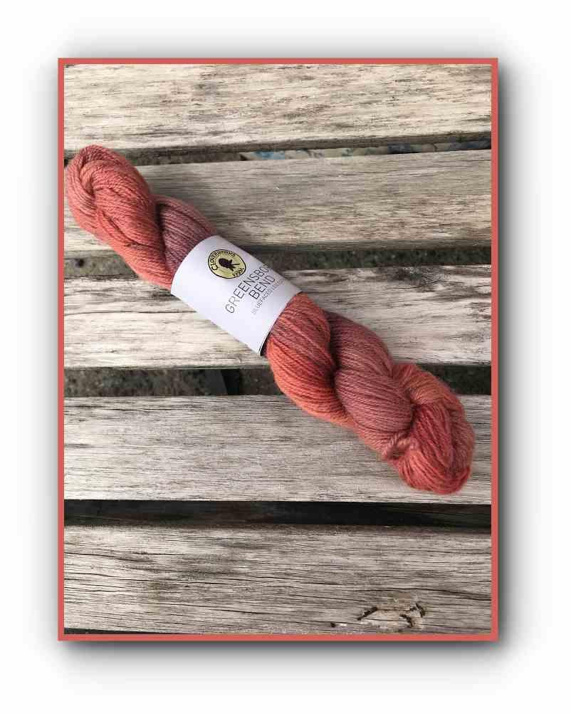 Greensboro Bend – Bluefaced Leicseter Yarn – Sandstone 1
