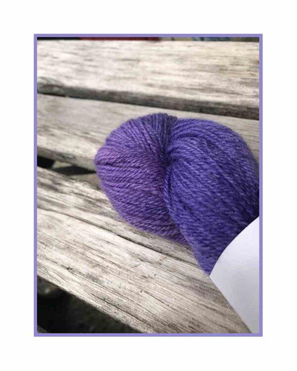 Greensboro Bend – Bluefaced Leicseter Yarn – Lavendar 2