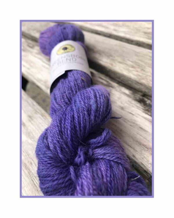 Greensboro Bend – Bluefaced Leicseter Yarn – Lavendar 3