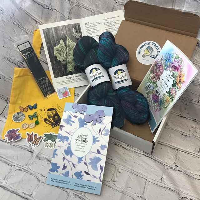The Knitting Inspiration Vermont Yarn Club 2020 5