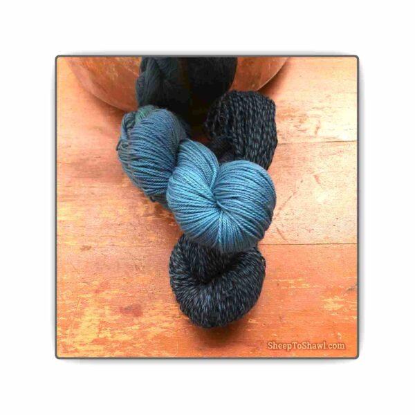 Blueberry – Knitting Sock Kit 1
