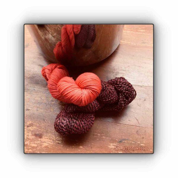 Sherbet – Knitting Sock Kit 1