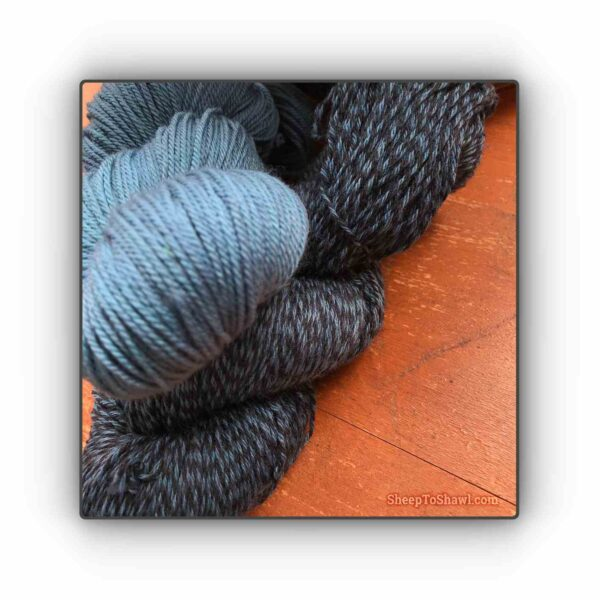 Blueberry – Knitting Sock Kit 2