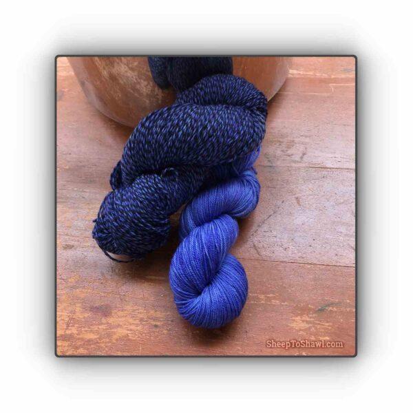 Purple Blueberry – Knitting Sock Kit 1