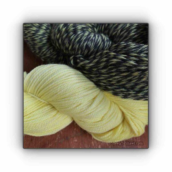 Lemon – Knitting Sock Kit 2