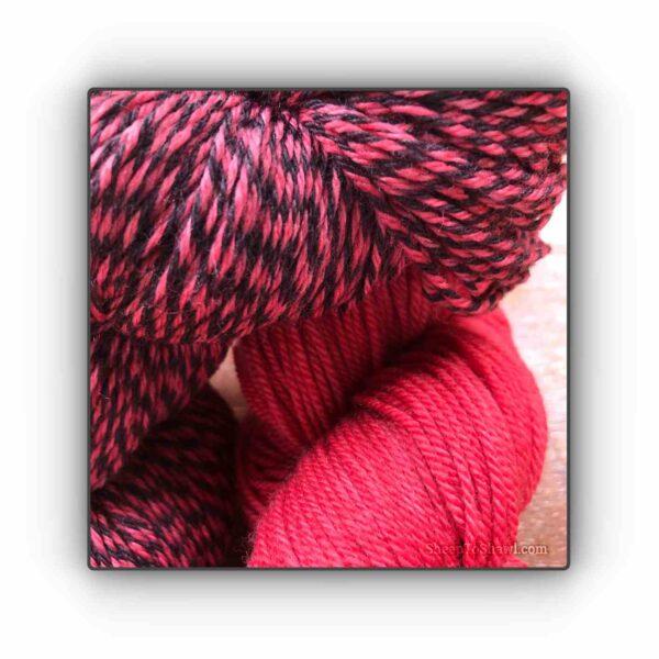 Strawberry – Knitting Sock Kit 2