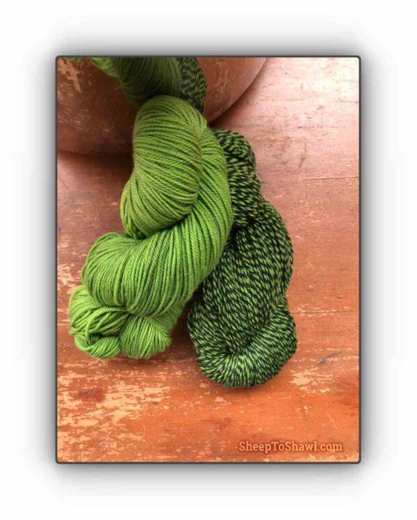 Pistachio - Knitting Sock Kit 1