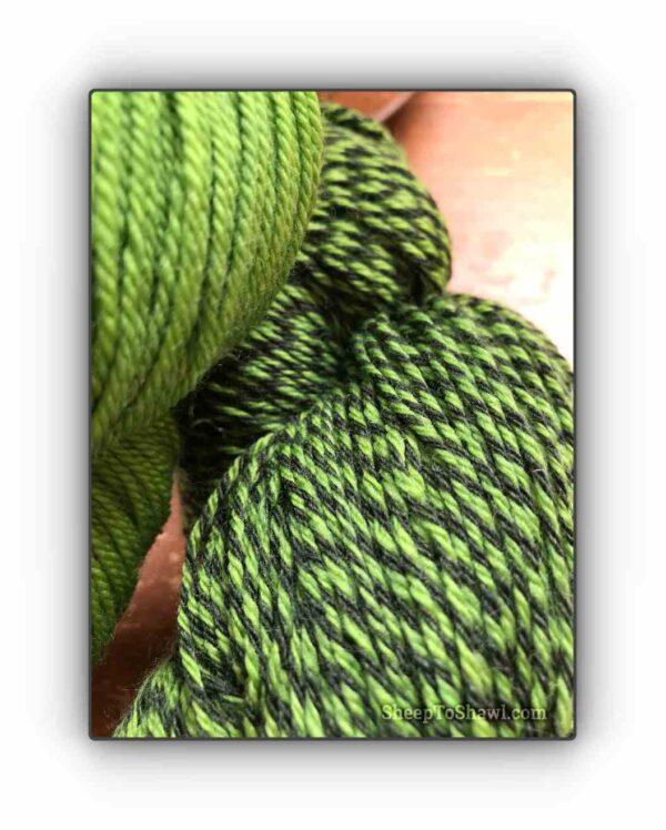 Pistachio - Knitting Sock Kit 2
