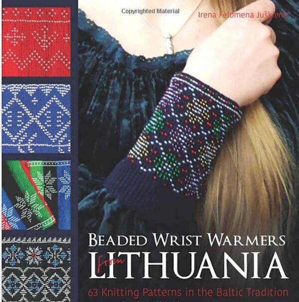 Beaded Wrist Warmers from Lithuania - Baltic Tradition 1