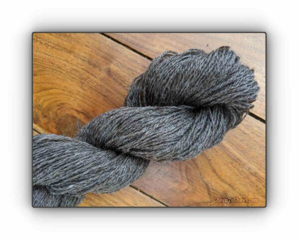 Natural Grey - Snug Valley Coopworth Yarn 1