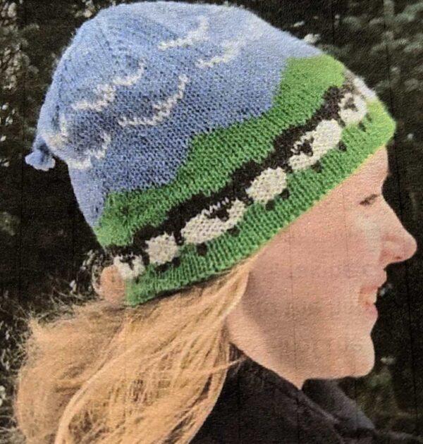 Sheepscape Hat Pattern Kit 1