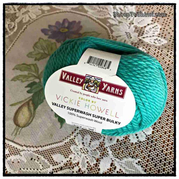 Valley Yarn - Superwash - Super Bulky - Tiki Turquoise 1