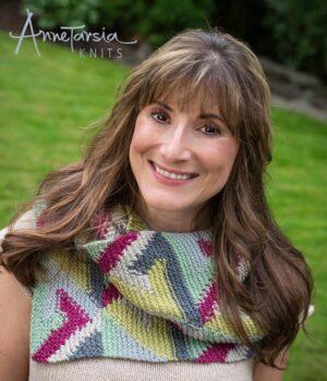 Knitting Teacher Anne Berk